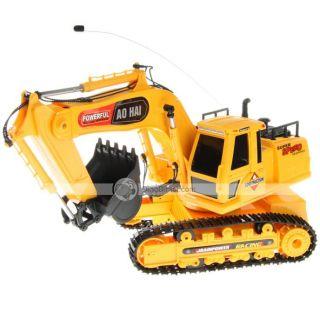 Wholesale Seagreen Wireless RC Remote Control Excavator Toy NO.3813