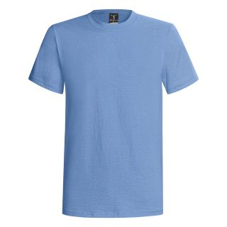Hanes Beefy T® T Shirt   Short Sleeve (For Men and Women) in Medium