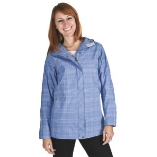 White Sierra Junket Rainwear Jacket   Waterproof, Long (For Women) in