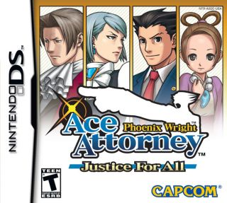 Phoenix Wright Ace Attorney   Justice for All Nintendo DS Video Game