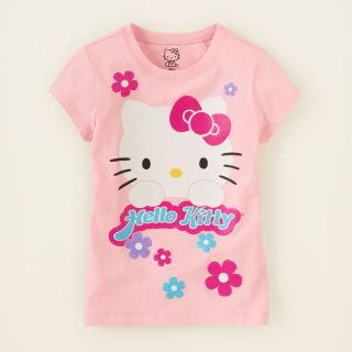 girl   Hello Kitty flowers graphic tee  Childrens Clothing  Kids