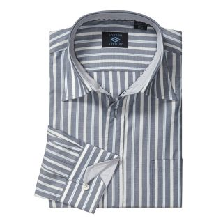 Joseph Abboud Cotton Sport Shirt   Combo Stripe, Long Sleeve (For Men