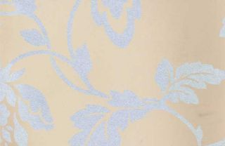 Dulux blossom wallpaper rose from for Wallpaper homebase grey