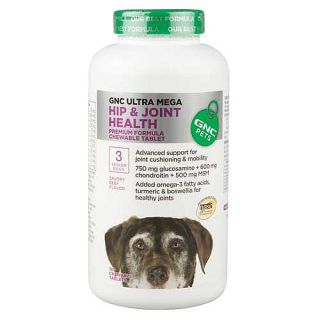 GNC Pets Ultra Mega Hip & Joint Health for Senior Dogs   Beef Flavor