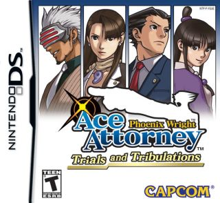 Phoenix Wright Ace Attorney Trials & Tribulations Nintendo DS Video