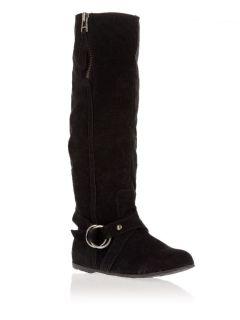 Купить черные сапоги madden girl Lacosta Black Suede