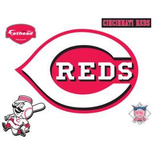 Fathead Cincinnati Reds Logo Vinyl Wall Graphic  Meijer