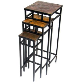 4D Concepts 3 Tier Plant Stand w/Slate Top  Meijer
