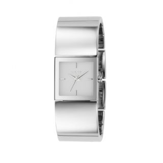 DKNY® Ladies Stainless Cuff White Watch      Canada