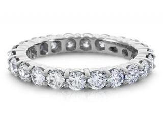 Diamond Eternity Ring in Platinum  Blue Nile
