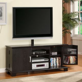 Espresso TV Stand With Removable Mount Fits Upto 65 Tv