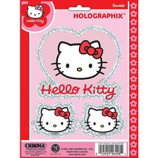 Image of Hello Kitty Holographic Decal by Chroma Graphics   part