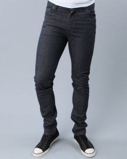 510 Super Skinny Fit Rigid Grey Jeans (Dark Wash)
