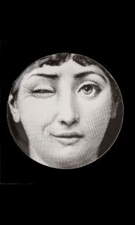 Fornasetti Theme & Variations Plate #130
