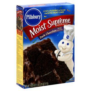 Pillsbury Moist Supreme Premium Cake Mix   Dark Chocolate   1 Box (15