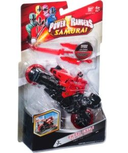 Power Rangers Super Samurai Schwert Cycle, rot, BANDAI   myToys.de