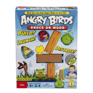 Angry Birds Knock On Wood Game   Shop.Mattel