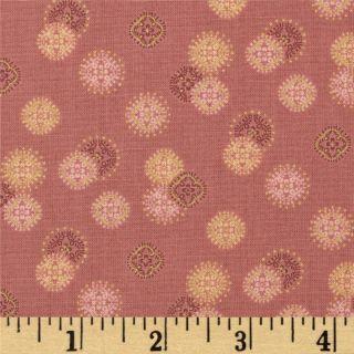 Memoirs of a Geisha Coin Texture Rose   Discount Designer Fabric