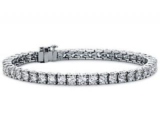 Premier Diamond Tennis Bracelet in Platinum (7 ct. tw.)  Blue Nile