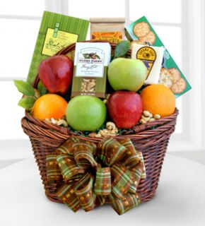 Fall Harvest Fruit Basket Mayer florist   flowers Mayer, AZ, 86333