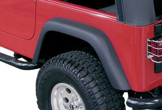 2007 2012 Jeep Wrangler Factory Style Fender Flares   Rugged Ridge
