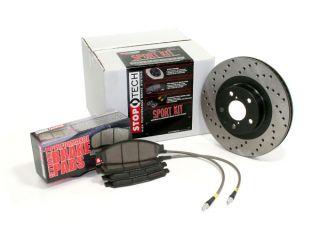 StopTech Sport Brake Kit   Replacement Rotors, Street Performance