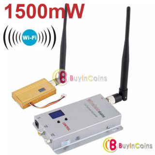 2GHz 12CH 1500mW Wireless Camera Transmitter Receiver   BuyinCoins