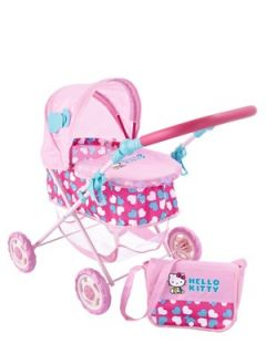 Your child will love taking her doll out and about in the stylish