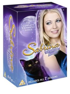 Sabrina The Teenage Witch The Complete Enchanted Series DVD