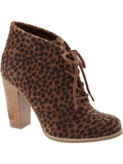 Womens Faux animal Fur Ankle Boots  Old Navy   Free Shipping on $50