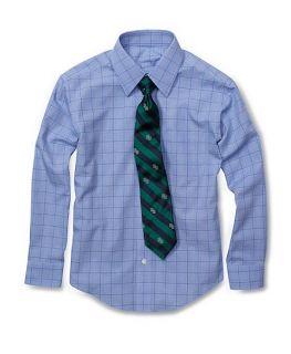 Non Iron Forward Point Glen Plaid Dress Shirt   Brooks Brothers