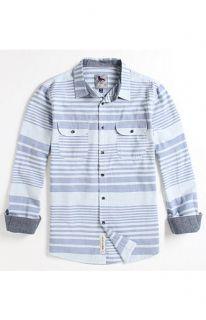 Modern Amusement Luke Chambray Long Sleeve Woven Shirt at PacSun