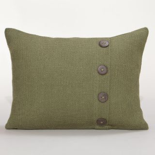 Green Burlap Lumbar Pillow Green Burlap Lumbar Pillow  World Market