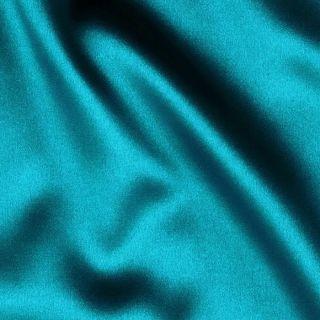 Tahari Stretch Satin Turquoise   Discount Designer Fabric   Fabric