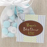 Its A Boy Personalized Baby Shower Party Favor Tag   8328
