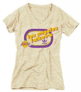 Los Angeles Lakers Womens Candy Rad Fan Tri Blend T Shirt
