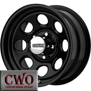Cragar Soft 8 Wheels Rims 5x127 5 Lug Chevy GMC C1500 Jeep Wrangler