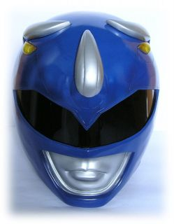 MIGHTY MORPHIN POWER RANGERS BLUE POWER RANGER HELMET COSTUME   SHIPS