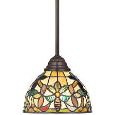 Tiffany, Mini Pendant Lighting Fixtures By