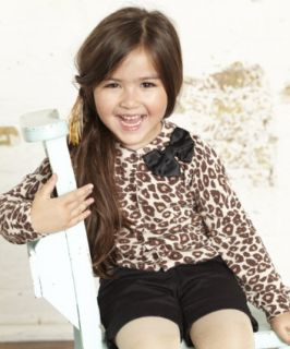 Baby K Leopard Print Cardigan   jumpers & cardigans   Mothercare