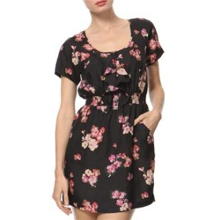 Juicy Couture Black/Pink Floral Dress
