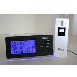 TempMinder MRI 213MX Wireless Weather Station at Brookstone—Buy Now!