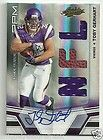 2010 UD Exquisite TOBY GERHART 99 Auto Biography Triple Jersey RC AUTO