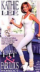 Kathie Lee Gifford   Feel Fit Fabulous Workout VHS, 1994