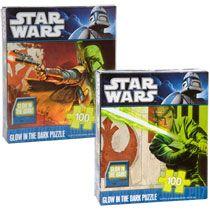 Bulk Star Wars Glow in the Dark Puzzles, 100 piece at DollarTree