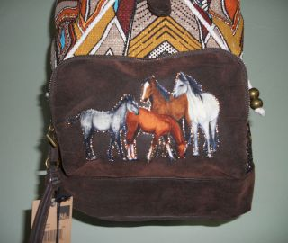 Girls HORSE Backpack~BILLA​BONG~CoLoRs~Ma​rcoola~NWT~Pur​se Or
