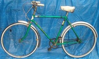 BH664 Vtg Eatons Of Canada Glider by Raleigh Mens 3 Speed Bicycle Bike