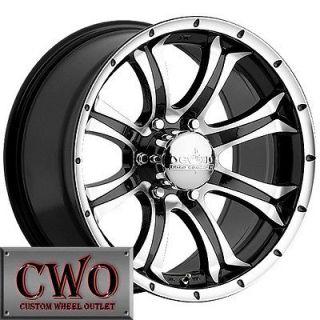 Devino Kraken Wheels Rim 8x165.1 8 Lug Chevy GMC Dodge Ram 2500 2500HD