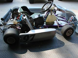 Racing Go Kart W/ Rebuilt 125cc Rotax Motor Hase Chassis