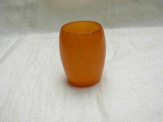 vintage Bakelite amber Turkish FATURAN dice cup 70gr.